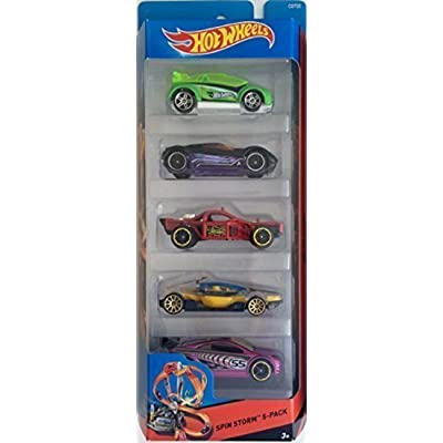 Hot Wheels, 2015 HW City, Spin Storm 5-Pack: Toys & Games
