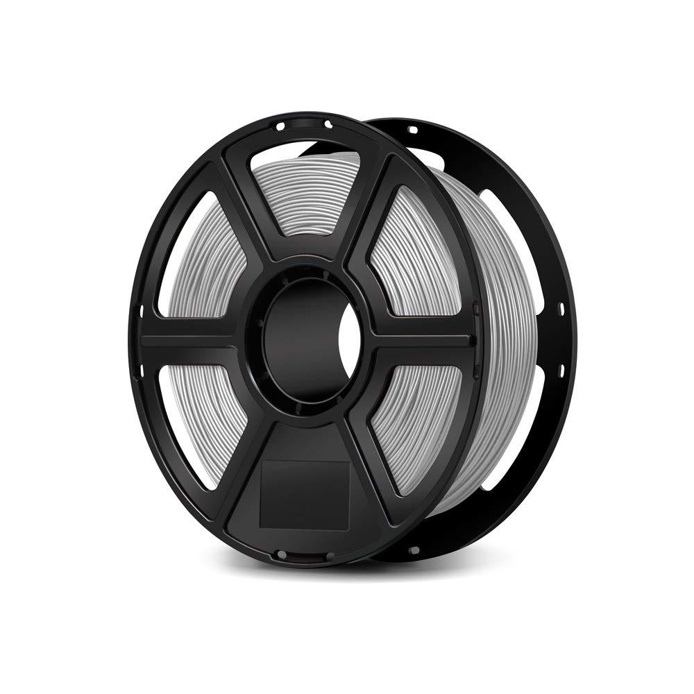 Flashforge USA 3D Printing Printer PLA Filament 1.75 mm 1 KG (Silver)
