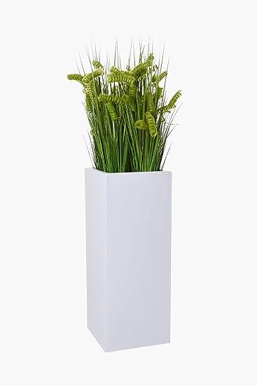 Pflanzkübel Blumenkübel Portalvase Pflanzgefäß pulverbeschichtetes ...
