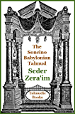 Talmud Mishnah Seder Zeraim (Soncino Babylonian Talmud Book 2)