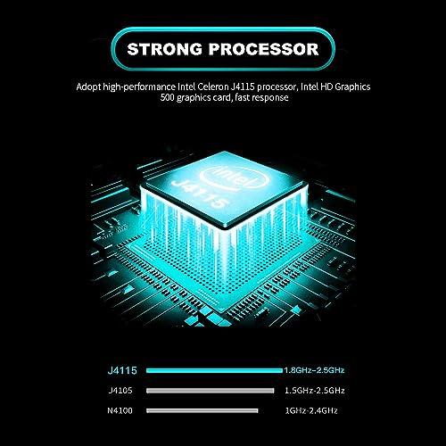 Docooler 15 6 Zoll tragbarer Laptop 8 GB DDR4 RAM 1920 1080 IPS Bildschirm fur Office EU Plug Englische Tastatur
