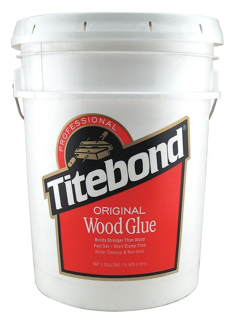 Titebond 5067 Original Wood Glue Bottle, 5 gal