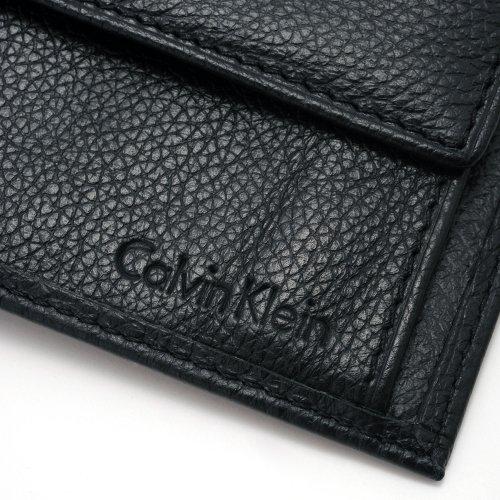 50e904e43b88 (カルバンクライン) Calvin Klein 二つ折り レザー 財布 プレゼント 男性 彼氏 ブランド [並行