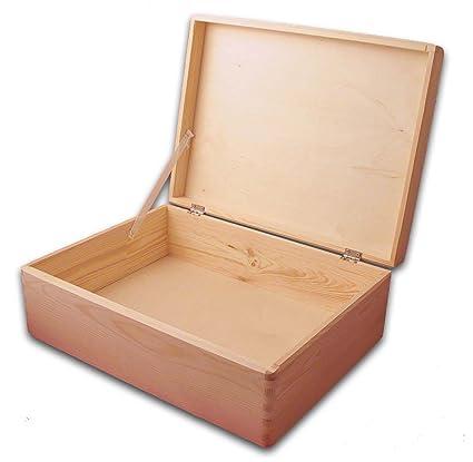 Caja para regalos, herramientas con tapa para decorar 40x 30 x14cm