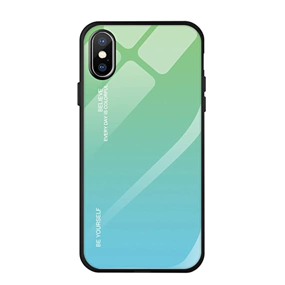 d4fe8fa893ef5 Amazon.com: Glad You Came for iPhone X Xr Xs Max Case Color Gradient ...