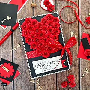 Crack of Dawn Crafts Romantic Love Scrapbook - Red Passion