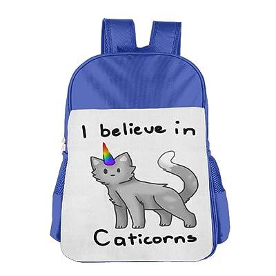 926ac1bbab98 cheap Cat Unicorn Rainbow Horn Girls 4-15 Age Daypacks RoyalBlue ...