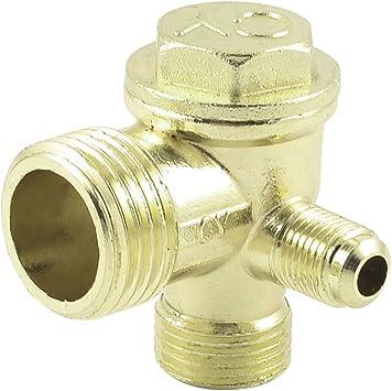 Latón 21 mm 16 mm 10 mm de rosca macho para compresor de aire tubo ...