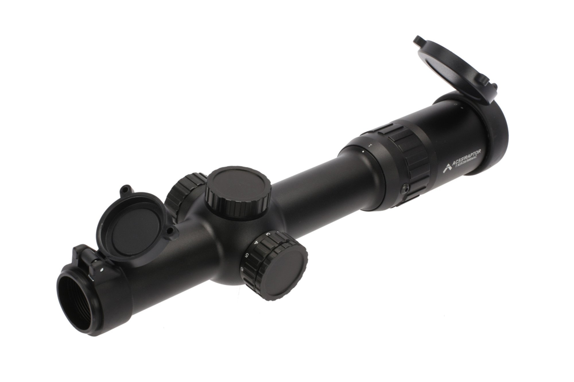 Primary Arms SLx6 1-6x24mm FFP Rifle Scope - Illuminated ACSS-RAPTOR-300BO/7.62x39 by Primary Arms