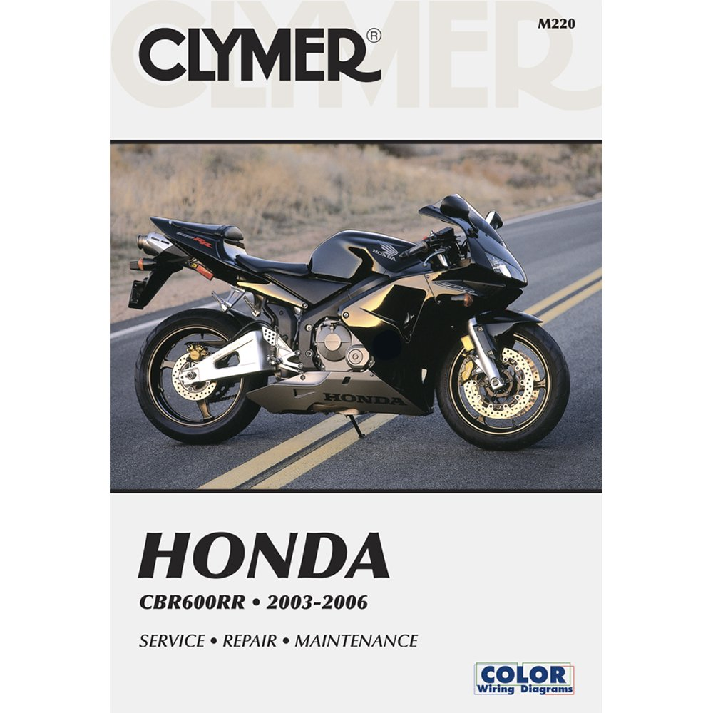 06 Cbr600rr Service Manual One Word Quickstart Guide Book 05 Wiring Diagram Amazon Com Clymer Honda Cdr600rr 2003 2006 53026 Automotive Rh Horsepower