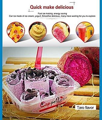 Thai frito hielo crema rollo eléctrica Panificadora para ...