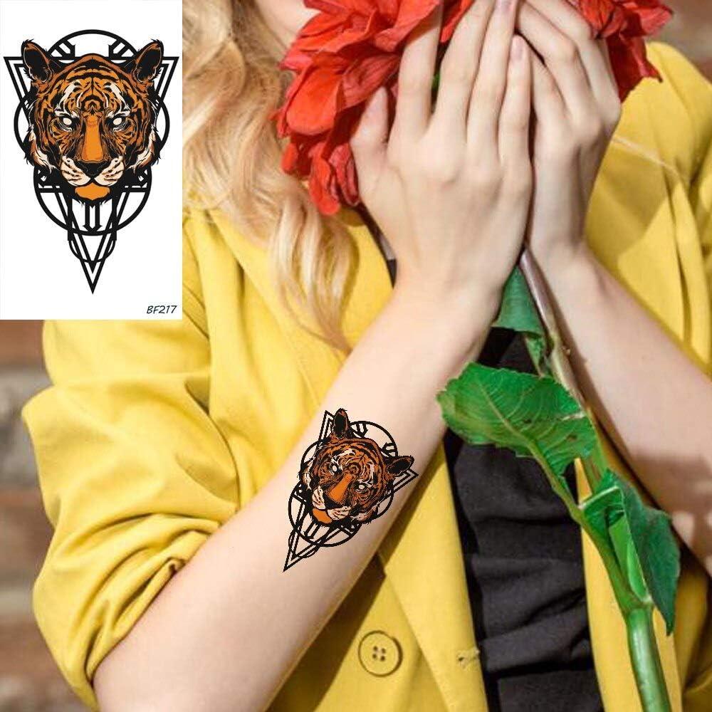 tzxdbh 6 Pirce Cool Tiger Animales Diseño Totem Línea Impermeable ...