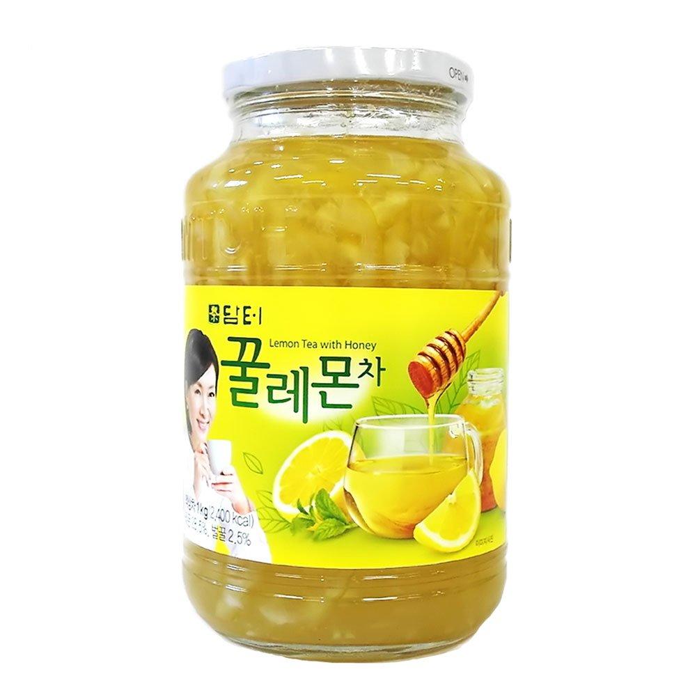 DAMTUH Honey Lemon Tea, Homemade Style Throat Comfort Honey Lemon, 35.27 Oz (1kg) 1 Bottle