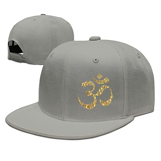 6af3685ff91 Baseball-caps MOLLYY Golden Om Symbol Circles Man Funny Painting Snapback  Adjustable Hip-Hop