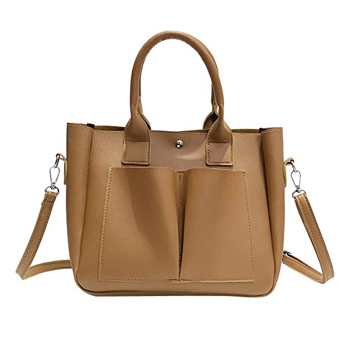 27a5386fd6d72 Goosuny Damen Handtaschen Fashion PU Leder Schulter Taschen Messenger Tote  Taschen Frauen Retro Shopper Umhängetasche Schulterbeutel