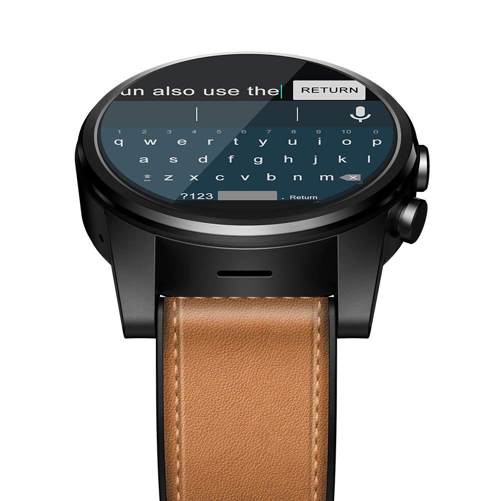 CIGOO Zeblaze Thor 4 PRO 4G LTE Smart Watch Phone Android 7.1.1 GPS WiFi BT4.0 Quad Core 1GB+16GB 320320 Pixel 5MP Camera 600mAh 1.6-Inch LTPS Crystal Display Multi-Touch Screen Watch