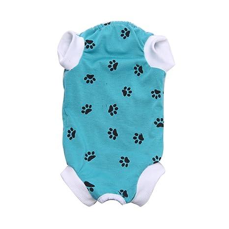 Hawkimin Vestido Para Mascotas Con Cordones De Algodón Y