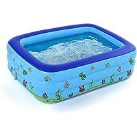 Tomshin Piscina portátil inflável para bebês, piscina ao ar livre, bacia infantil, banheira infantil