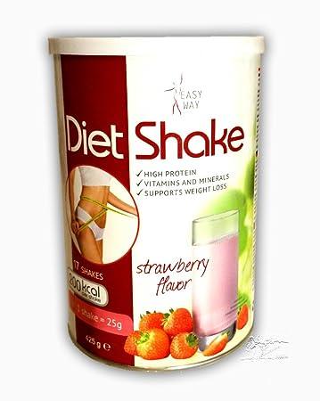 Easyway Diat Shake 425 G Erdbeere Diat Shake Premium Eiweisspulver