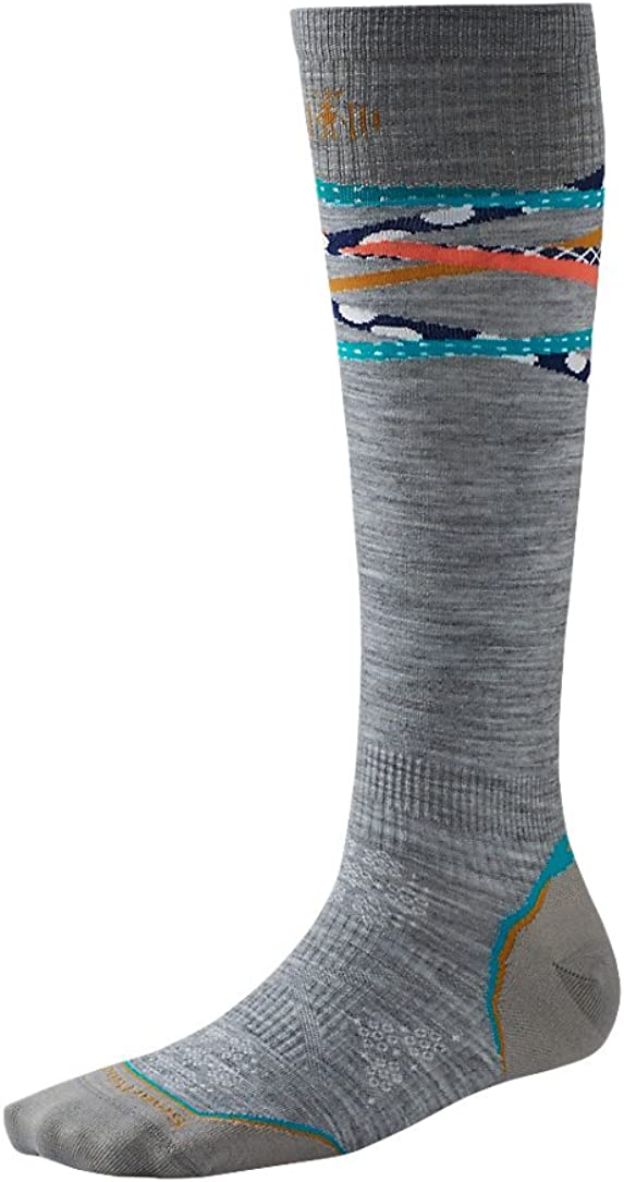 Smartwool Womens PhD Ski Ultra Light Pattern Socks