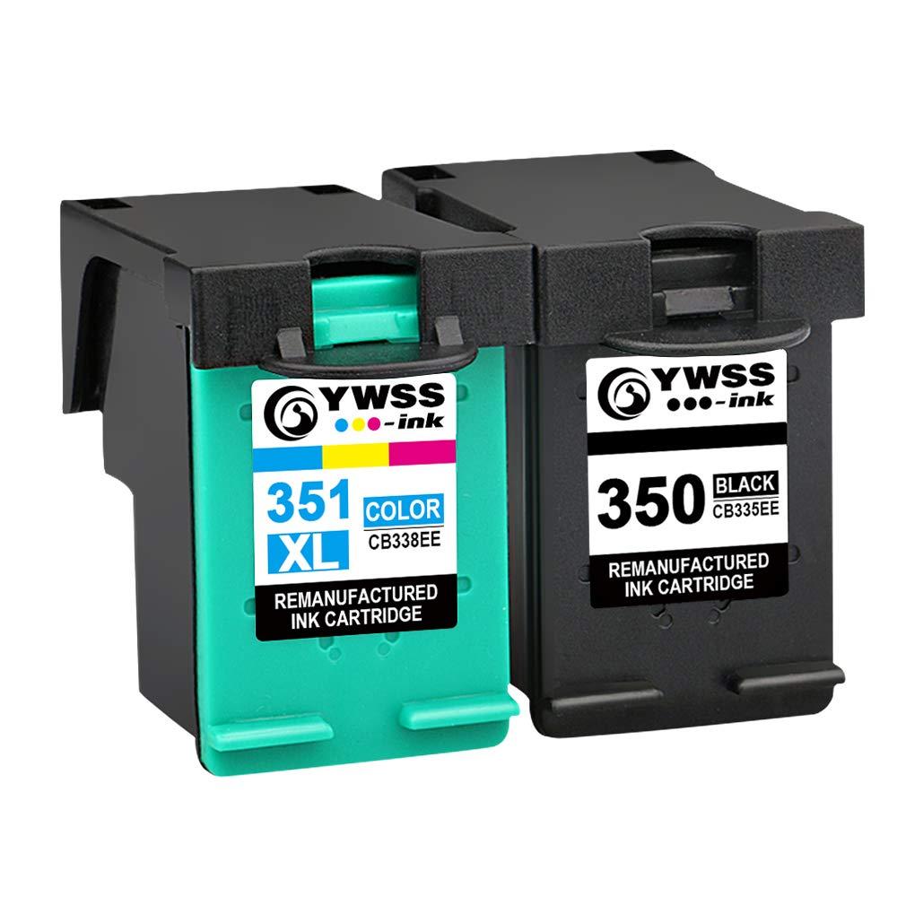 YWSS Remanufacturado Cartucho de Tinta para HP 350 HP 351XL HP 350 ...