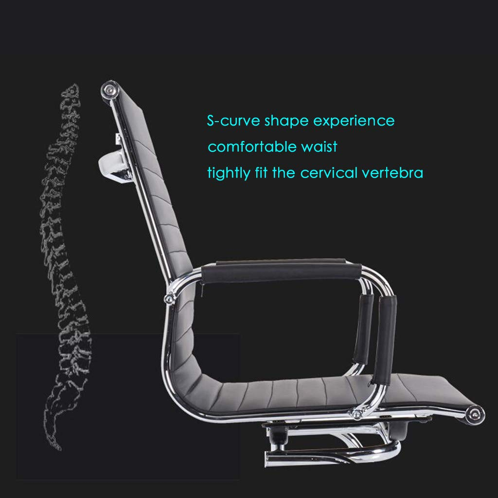 WONdere High-End Computer Chair Office Chair Reclining Home Massage Chair Lift Massage Chair Desk seat (B) by WONdere (Image #2)