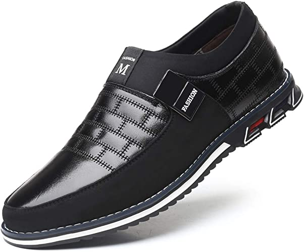 LIEBE721 Men's Business Casual Shoes