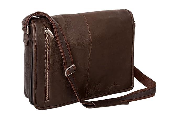 Amazon.com  Alpenleder Messenger Bag ATLANTA Brandy - Designed in ... 451726b77b