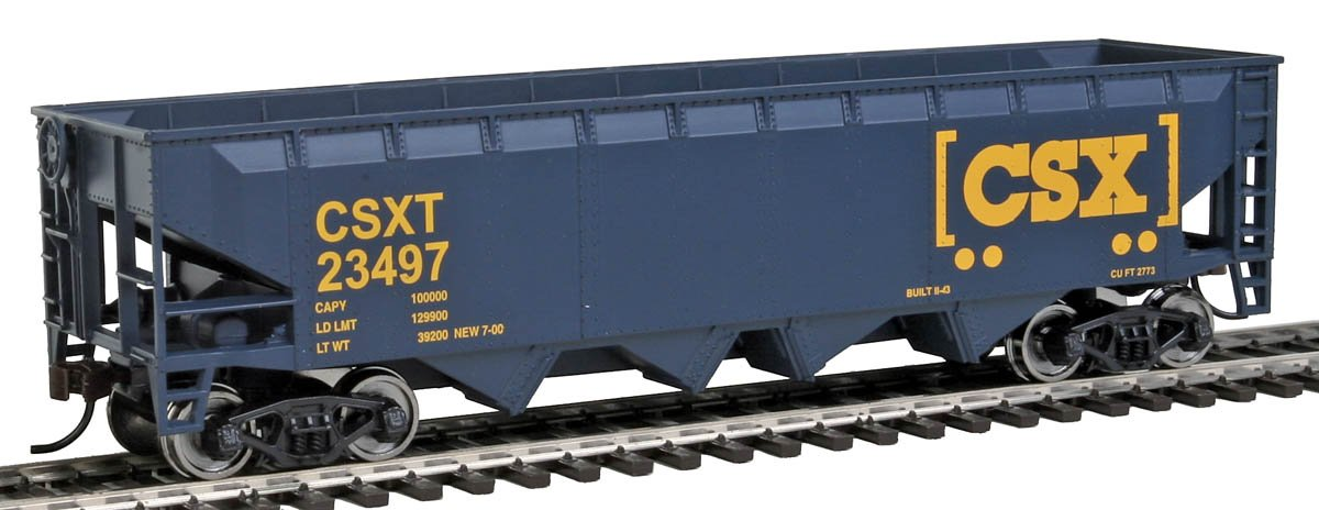 Walthers Trainline Offset Hopper Ready to Run CSX Toy Walthers - Life Like 931-1425