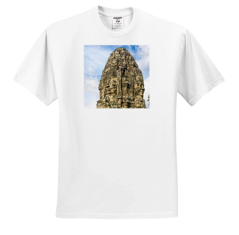 Cambodia Angkor Thom Adult T-Shirt XL ts/_312909 3dRose Danita Delimont Angkor Bayon Temple Cambodia