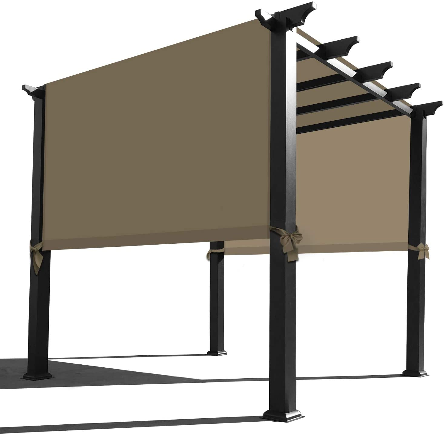 Pergola Replacement Canopy Universal Replacement Canopy for Pergola 12 L x 9 W, Sand Alion Home Waterproof Pergola Covers