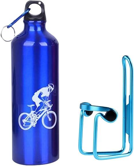 Lmeno puerta bidón + botella de agua 750 ml bicicleta jaula ...