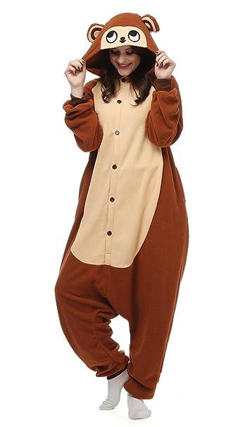 Auspicious beginning Unisex-mono adulto del traje de Cosplay Animal pijamas Homewear desgaste del salón