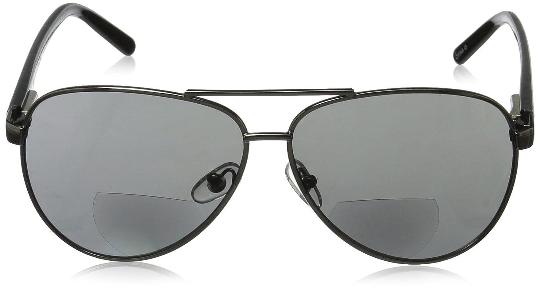 8cff3a6b61d1 Amazon.com  Foster Grant Men s Command 1017553-100.COM Aviator Reading  Glasses