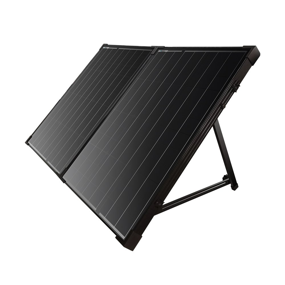 Renogy Foldable Solar Suitcase Kit 100w Mono Without Mppt Controller Wiring Schematic Moreover Charge Garden Outdoor