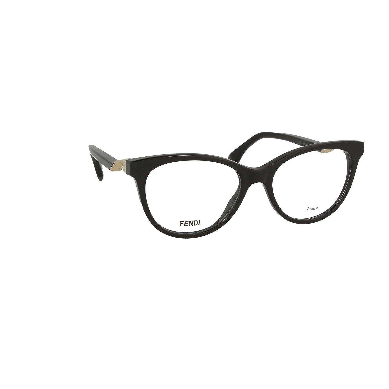 FENDI Fendi Damen Brille » FF 0201«, schwarz, 807 - schwarz