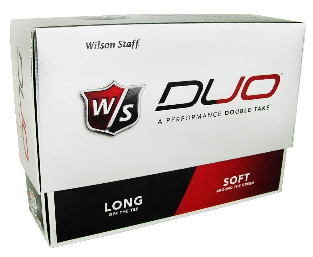 Wilson Staff Duo Golf Balls 12pk White by Wilson