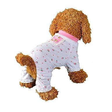 Amazon.com: ooeoo lindo perro gato ropa cachorro ropa Jersey ...