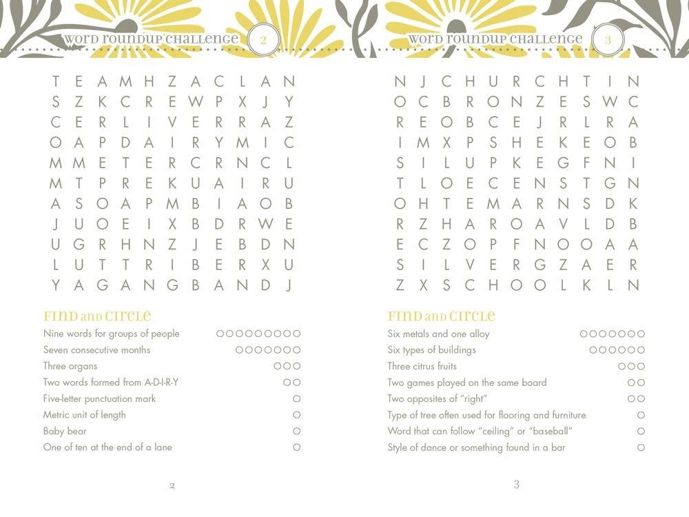 Pocket Posh Word Roundup Challenge 100 Puzzles Amazon The