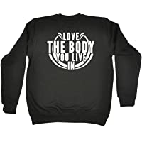 123t Love The Body You Live in - Sweatshirt