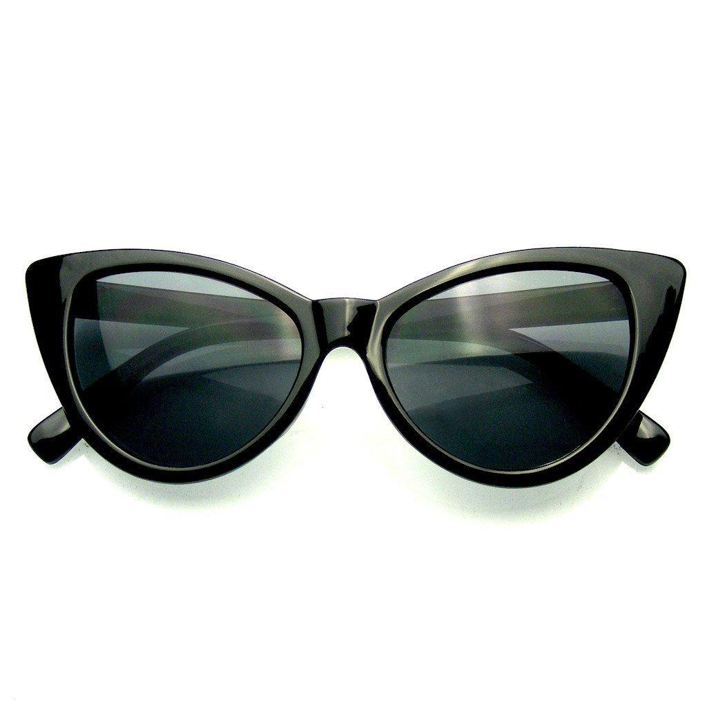 Emblem Eyewear Lunettes De Soleil Polka Dot Cat Eye Womens Fashion Mod Super Cat (Rouge) AZvj0zFmE