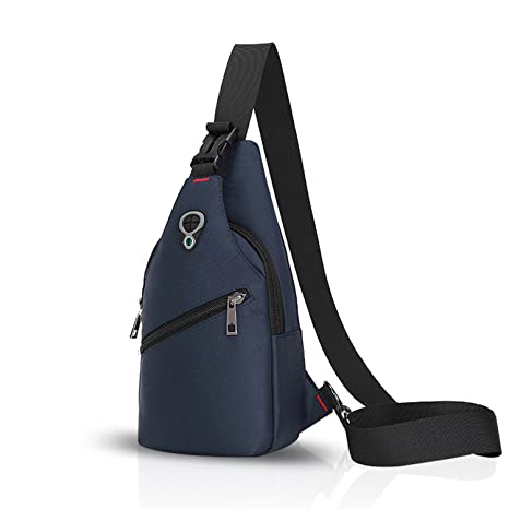 1af8bbea0b FANDARE Sling Bag Monospalla Borse a Spalla Zaino Spalla Borsa a Tracolla  Crossbody Bag Borsello Marsupio Zainetto Crossbody Chest Bag Hiking Bag ...