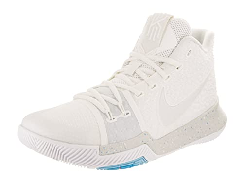 new products ee1a5 34ff2 Nike Men's Kyrie 3 Ivory/Pale/Grey/Light/Bone Basketball Shoe (10)