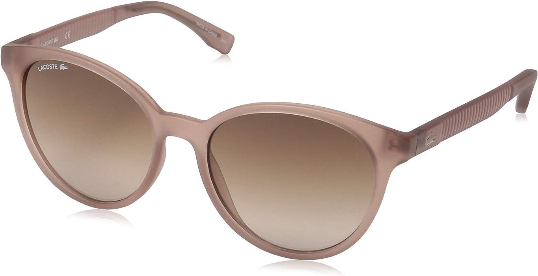 ffd33aa5a2ca Amazon.com  Lacoste Women s L887s Round Sunglasses