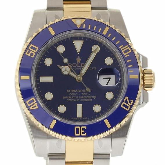 Rolex Submariner swiss-automatic Mens Reloj 116613 (Certificado) de segunda mano