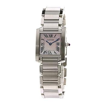 wholesale dealer dd98f 3e8d2 Amazon   [カルティエ]タンクフランセーズSM WG51208Q3 腕時計 ...