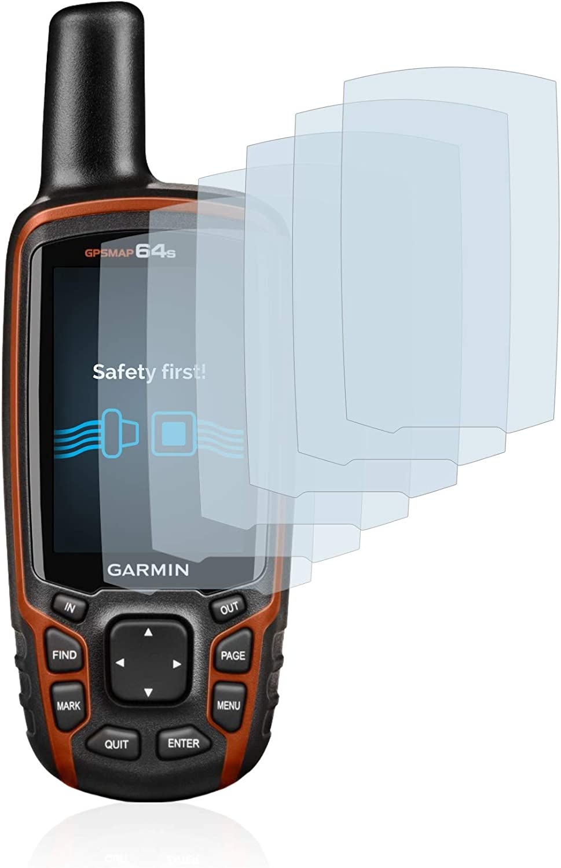 savvies Protector Pantalla Compatible con Garmin GPSMAP 64s (6 Unidades) Pelicula Ultra Transparente: Amazon.es: Electrónica