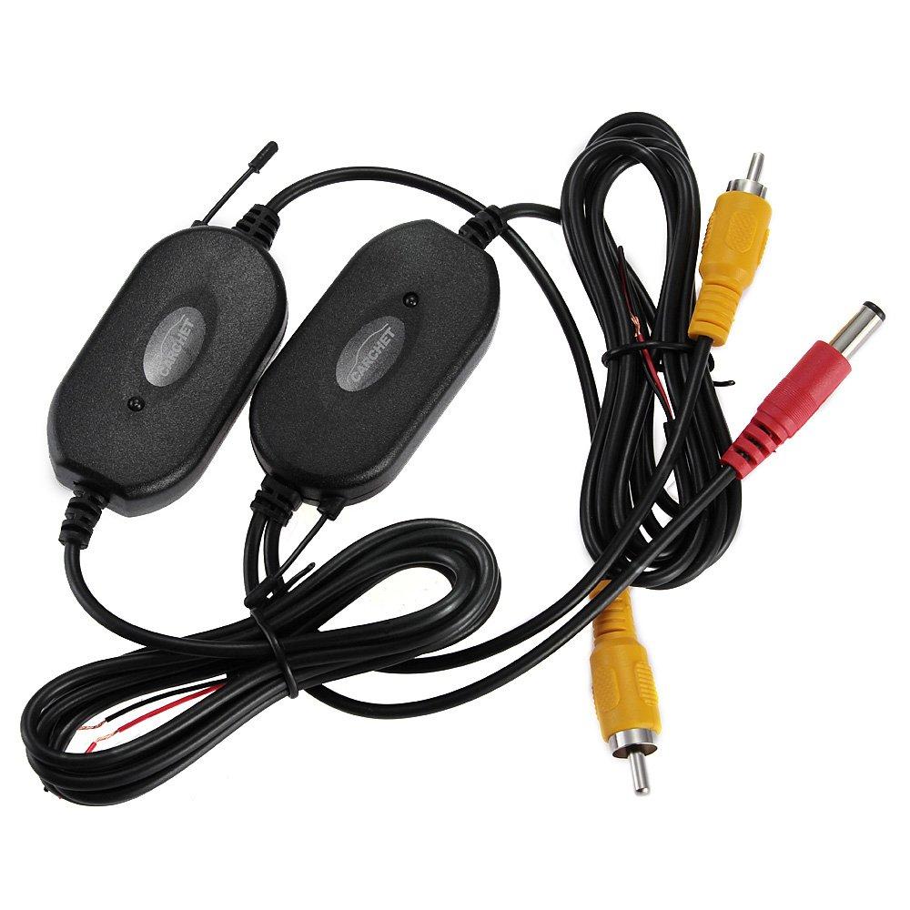 2.4GHZ drahtlos RCA Transmitter Empfänger für Rückfahrkamera ...
