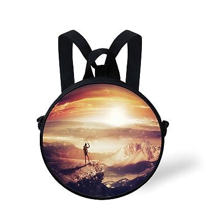 2346004c1225 Amazon.com: iPrint Toddler Preschool Backpack,Adventure,Traveler ...