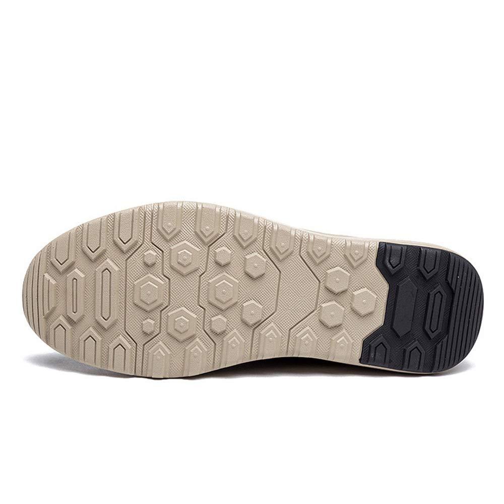 new product dde1f e3403 ... Qiusa para Zapatos Casuales para Qiusa Hombre con Cordones de Cuero  Genuino Zapatos de conducción Respirables